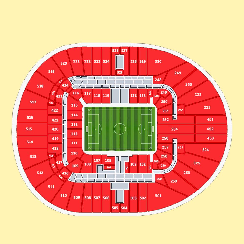 Tottenham Hotspur Vs Man United Tickets: Buy Tottenham Hotspur Vs Everton Tickets At Tottenham